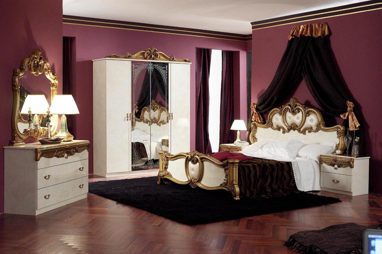 BAROCCO GOLD BEDROOM