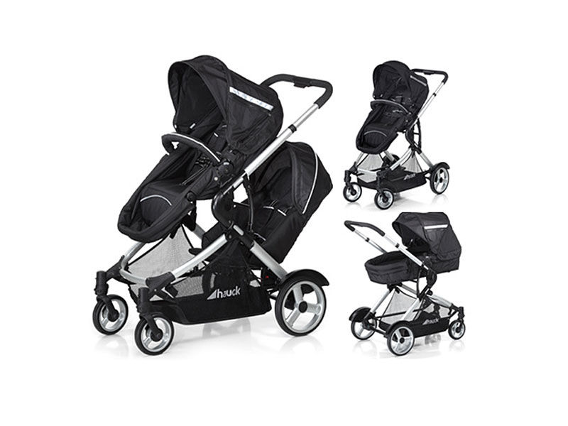 TWIN PUSH CHAIR
