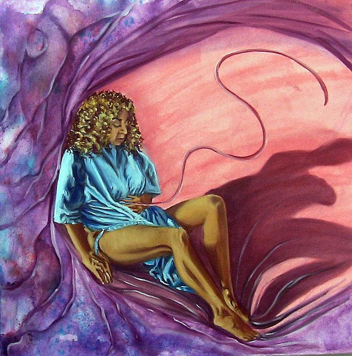 Rose L Williams Rosewarrior Visual Artist & Expressive Arts Therapist