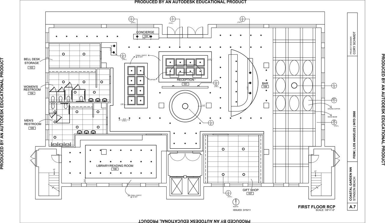 Cory schmidt interior design for Commercial floor plan designer