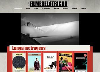 Filme Indie  Template - Chame a atenção para sua produtora de cinema com este template arrojado e inovador. Destaque comunicados de imprensa, promova projeções e compartilhe fotos e vídeos para mostrar seus projetos criativos.