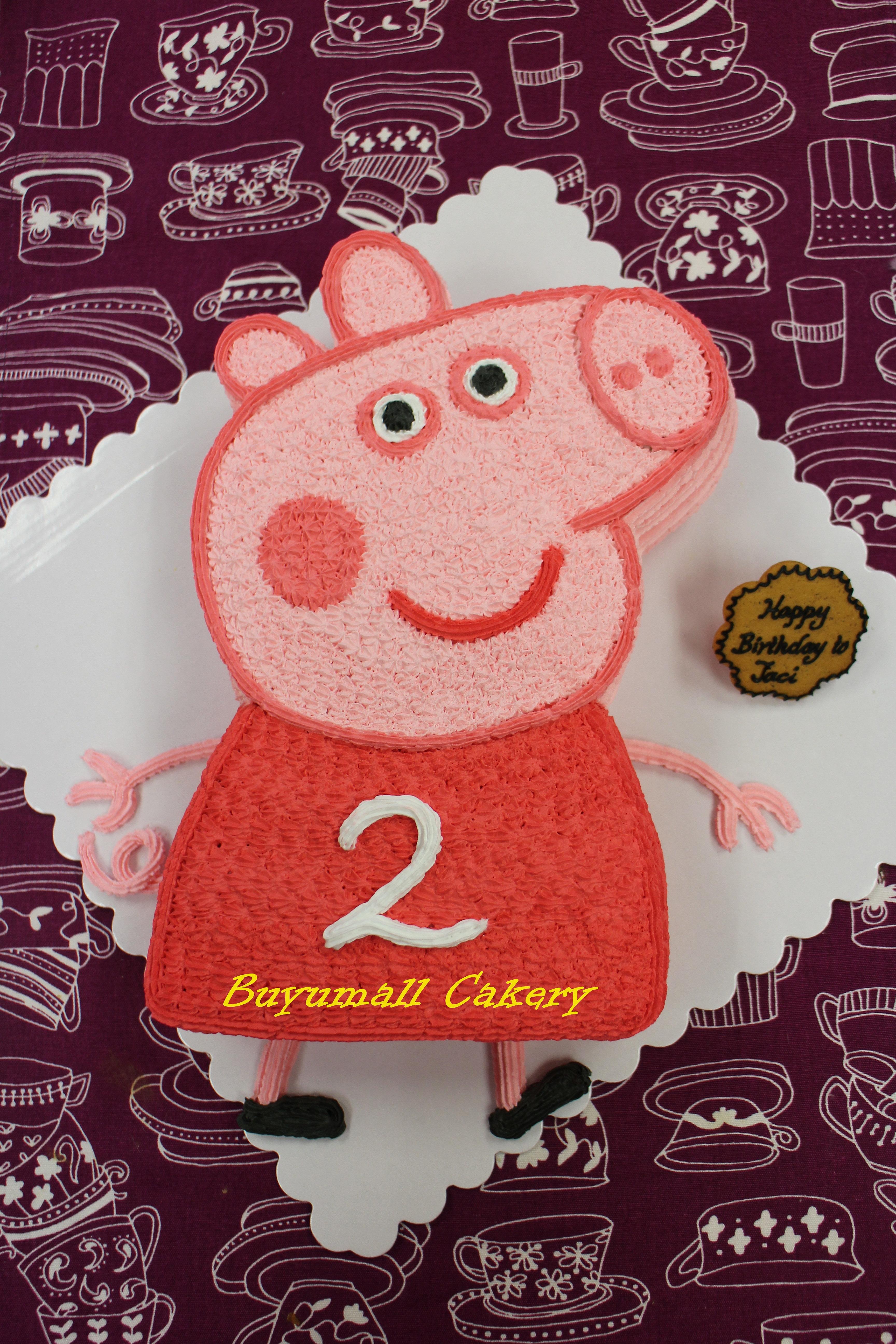 Buyumall Cakery & Decoratings | Peppa Pig 粉紅豬小妹 佩佩豬