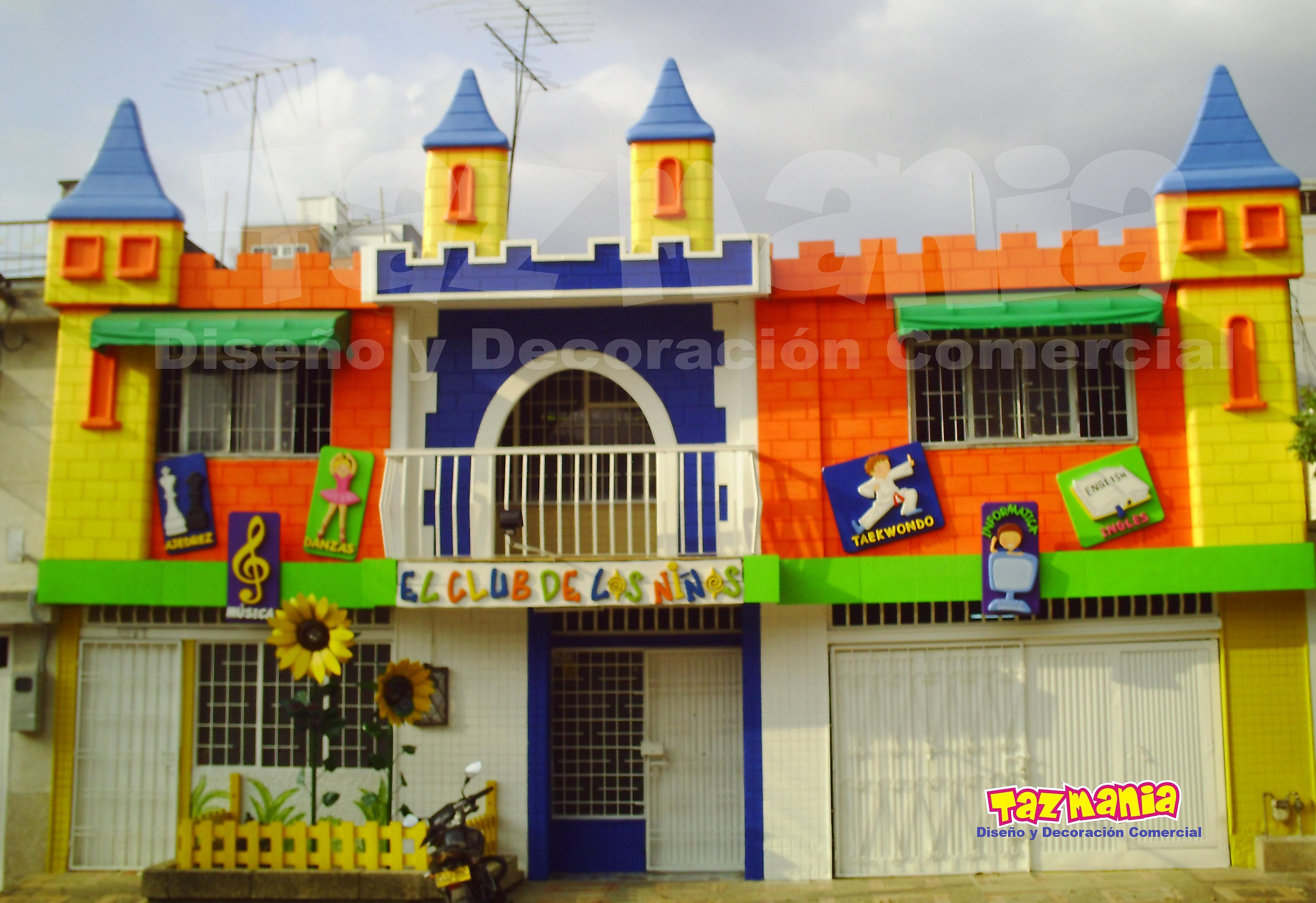 Tazmania dise o y decoraci n comercial decoraci n en icopor jardin clubdelosni os 3 jpg for Juegos para jardin nios