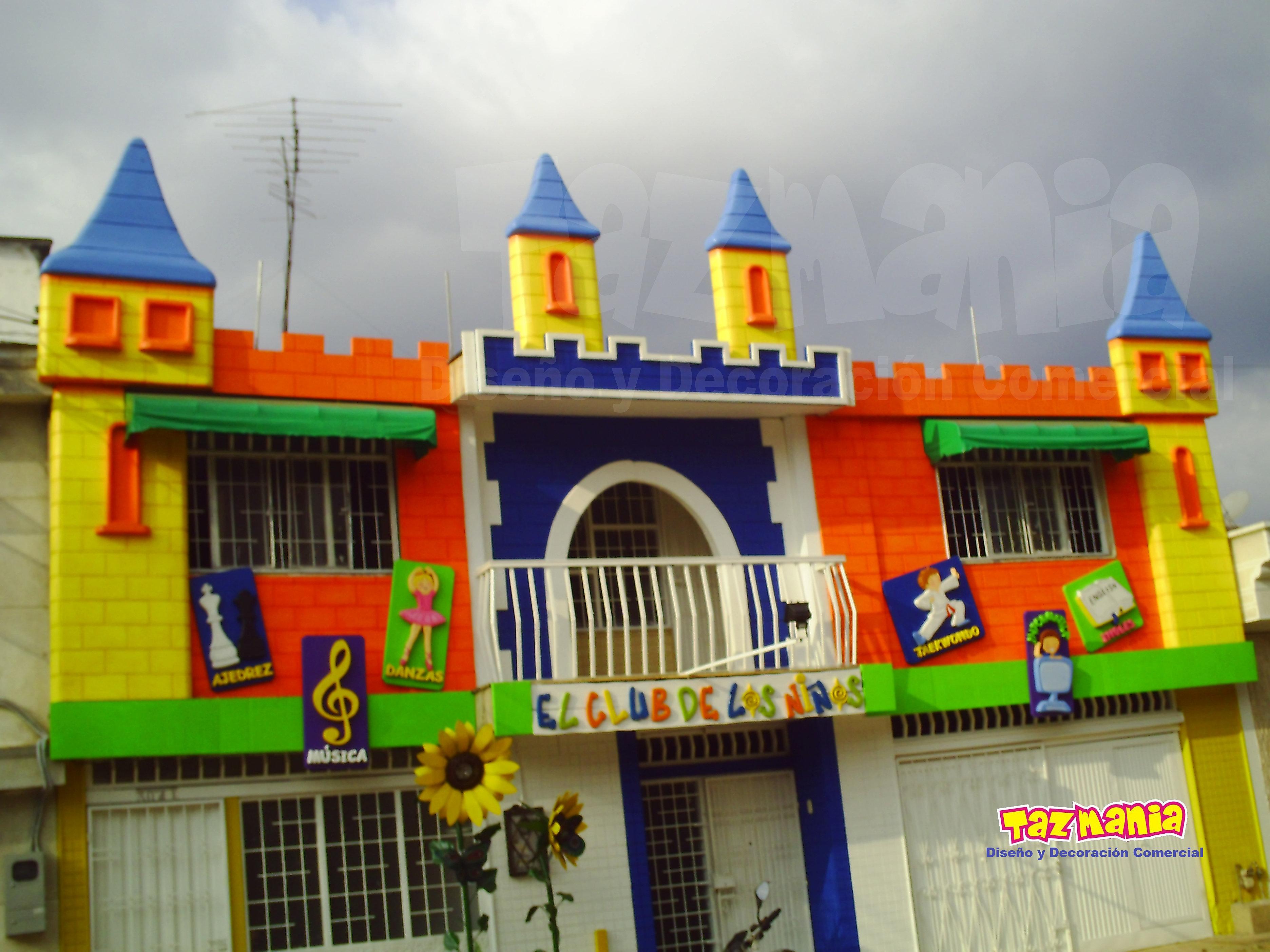 Tazmania dise o y decoraci n comercial decoraci n en for Decoracion verano para jardin infantil