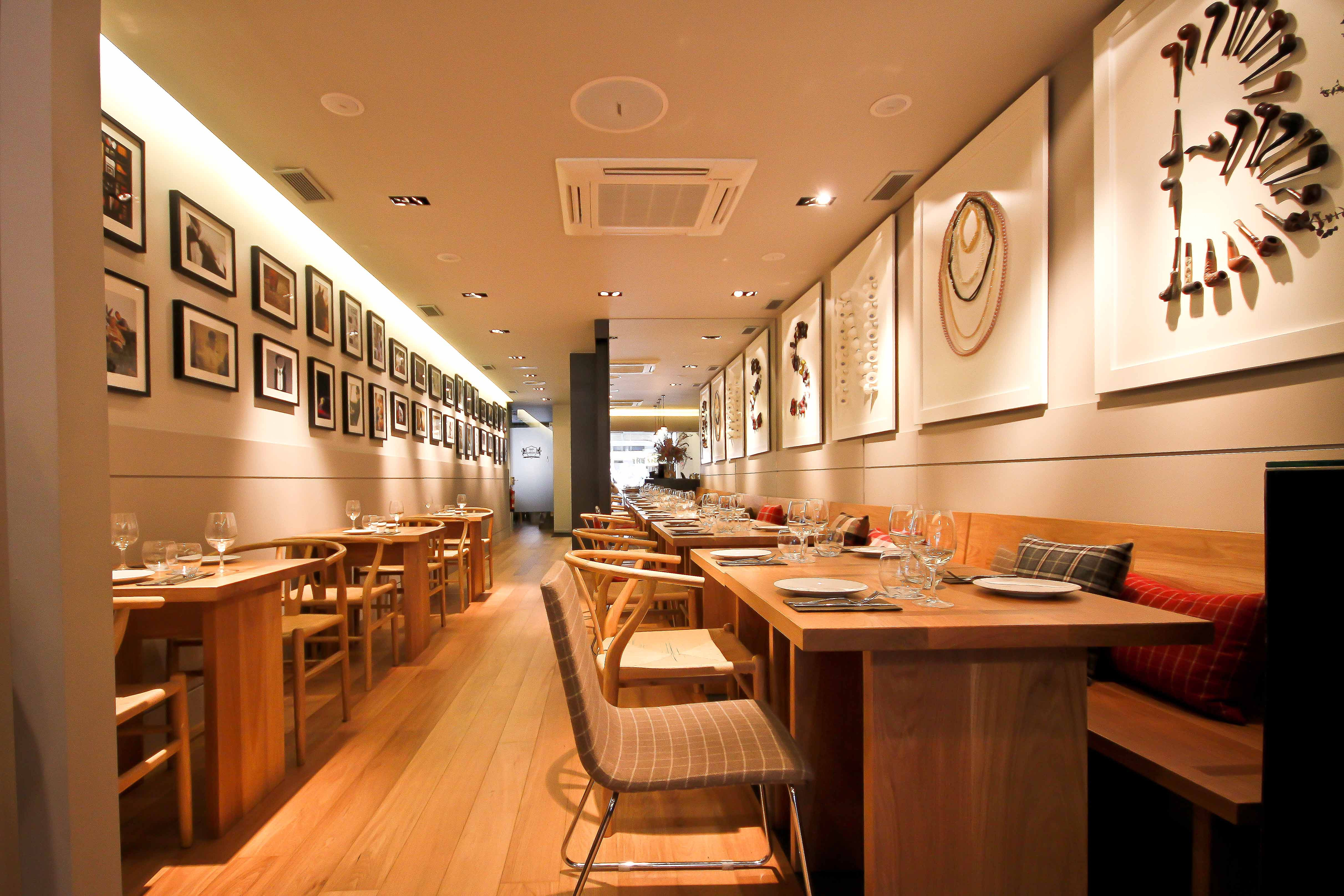 Dise o restaurante the snob - Diseno interiores barcelona ...