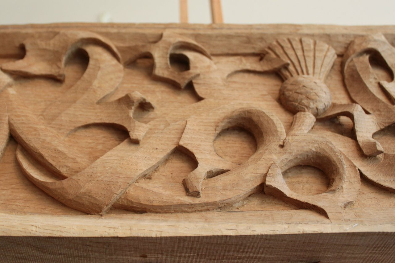 Jared withington wood carving strapwork wix