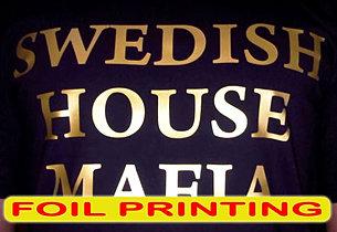 Foil Printing, Sablon Foil, silkscreen print, manual print, t-shirt print, apparel print