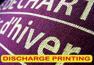 Discharge Printing, Sablon Discharge, sablon cabut warna, silkscreen print, manual print, t-shirt print, apparel print