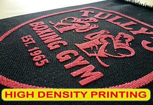 High Density Printing, Sablon High Density, manual print, silkscreen print, t-shirt print, apparel print