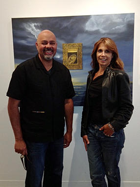 Raul Villarreal with  Rochelle Leininger Ramos