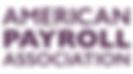 American Payroll Association logo.png