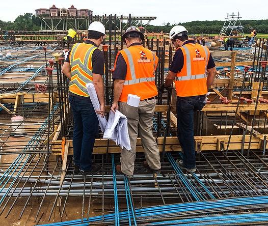 Forge Engineering jobsite workers