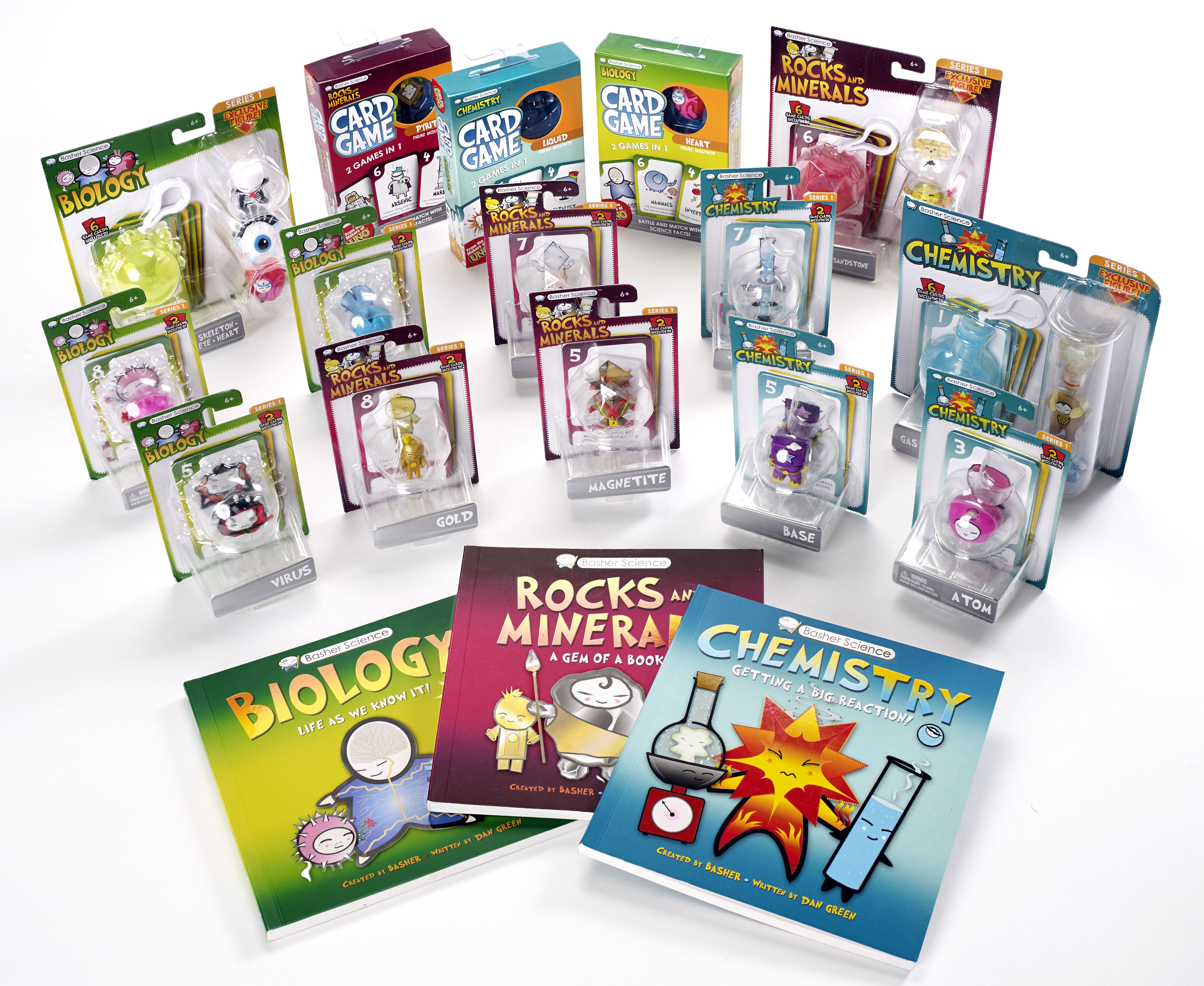 New Basher Science Toys