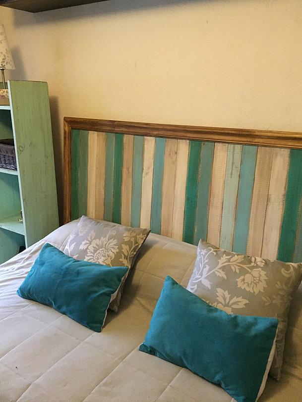 Respaldos de cama mesas arrimos muebles decoraci n - Respaldo para cama ...