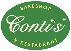 conti pastry shop and restaurant logo