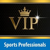 Sports Professionals VIP service