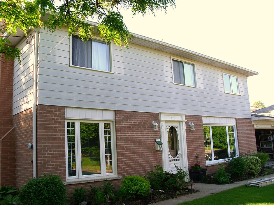We Paint Siding Before After GTA ON