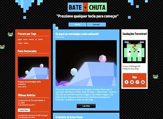 Blog de Jogos Template - Com o design divertido e o background animado, este template para blog é perfeito para novos jogadores e comentários de jogos. Comece seu blog de sucesso agora mesmo. Basta clicar e editar os posts do blog já existentes e seja um vencedor no mundo dos jogos!