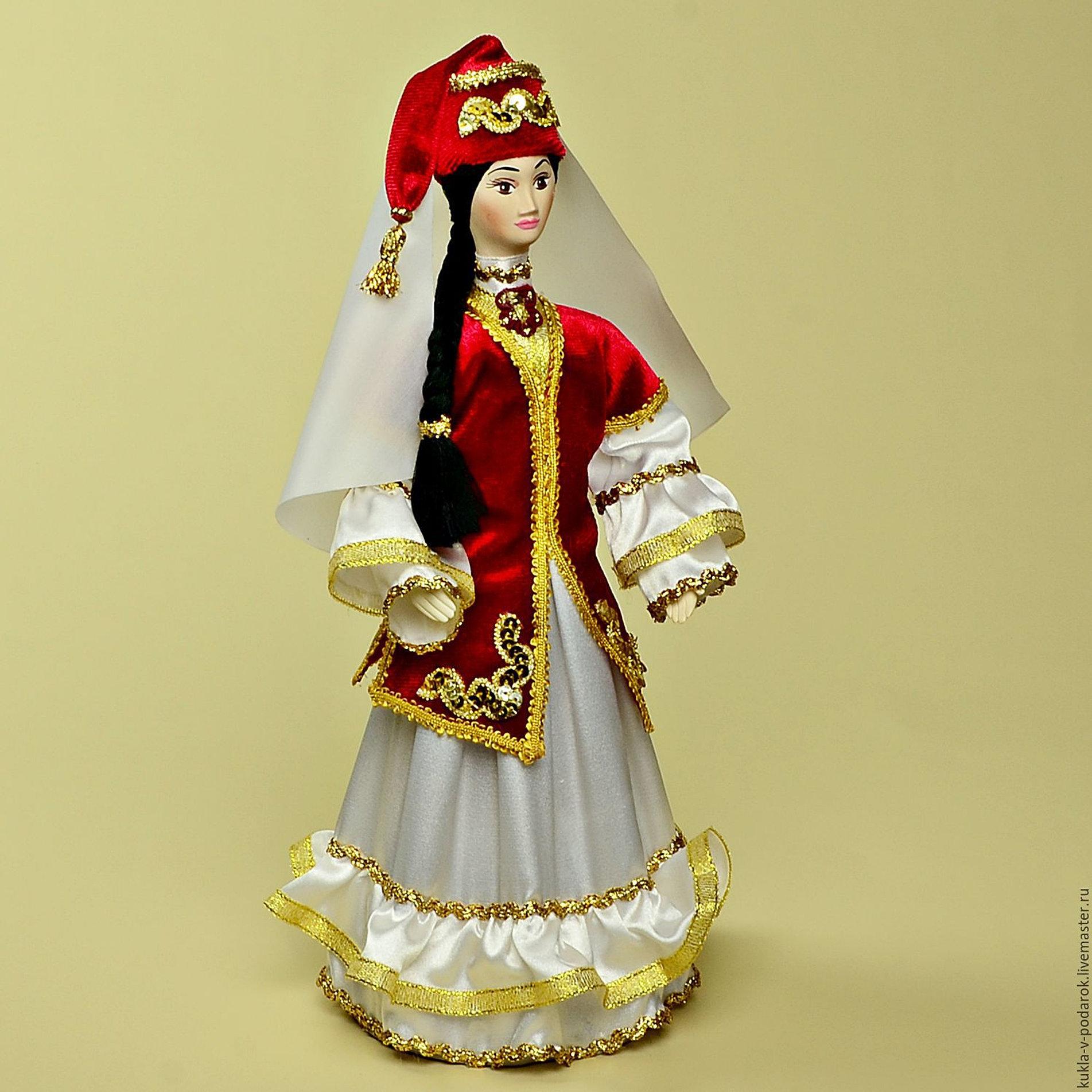 Татарский народный костюм женский своими руками