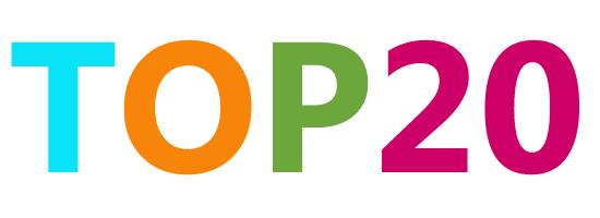 """Résultat de recherche d'images pour """"top 20"""""""