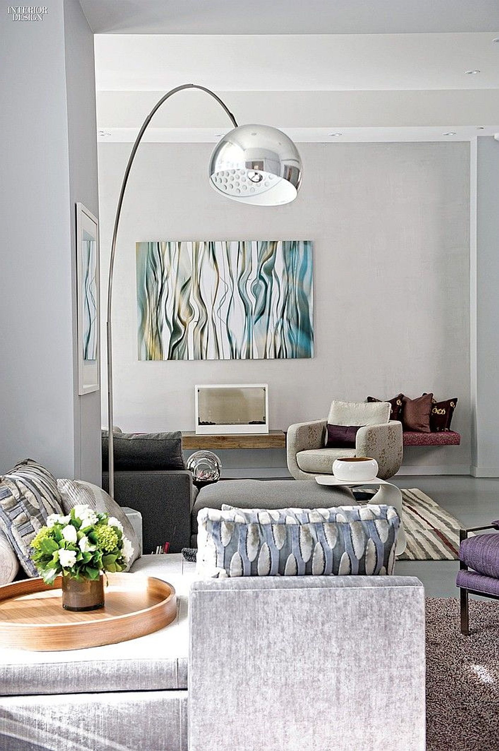 Interior Design Magazine Page