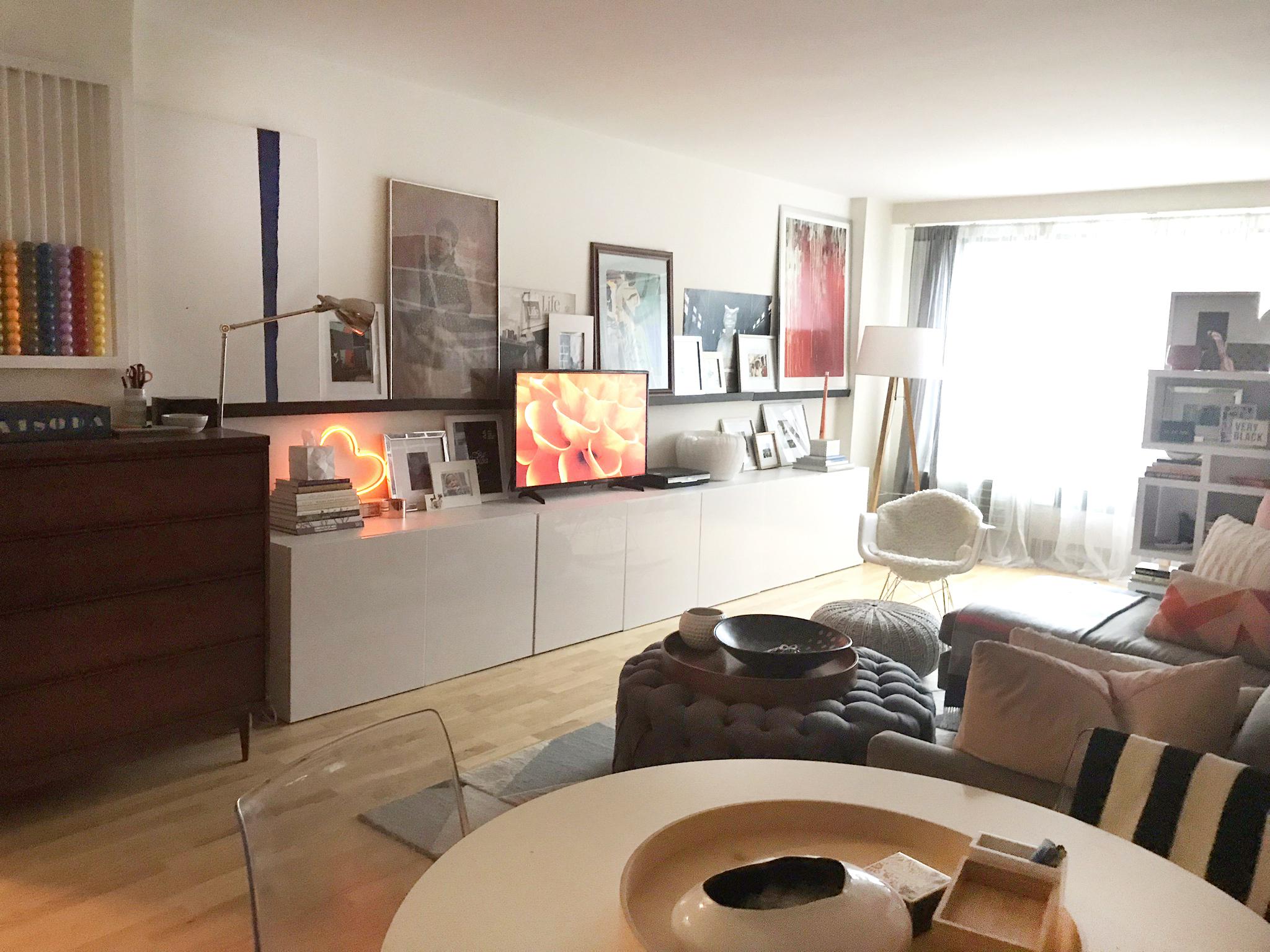 Harlem Home - Living Room