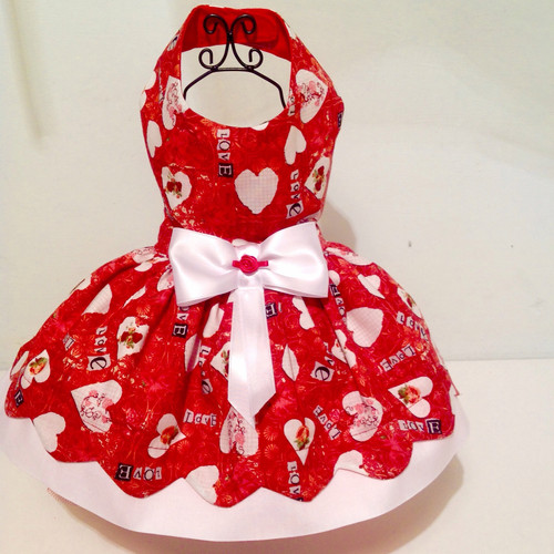 Red Heart Valentine Dress