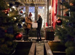 Shopping für Weihnachten