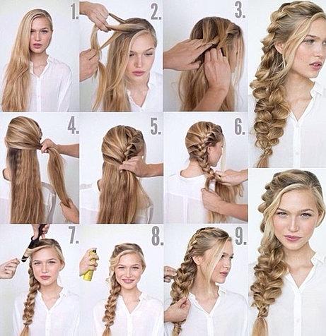 Прически для длинных волос своими руками на