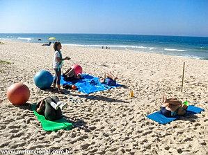 Treino na praia do dia 10-08-2013