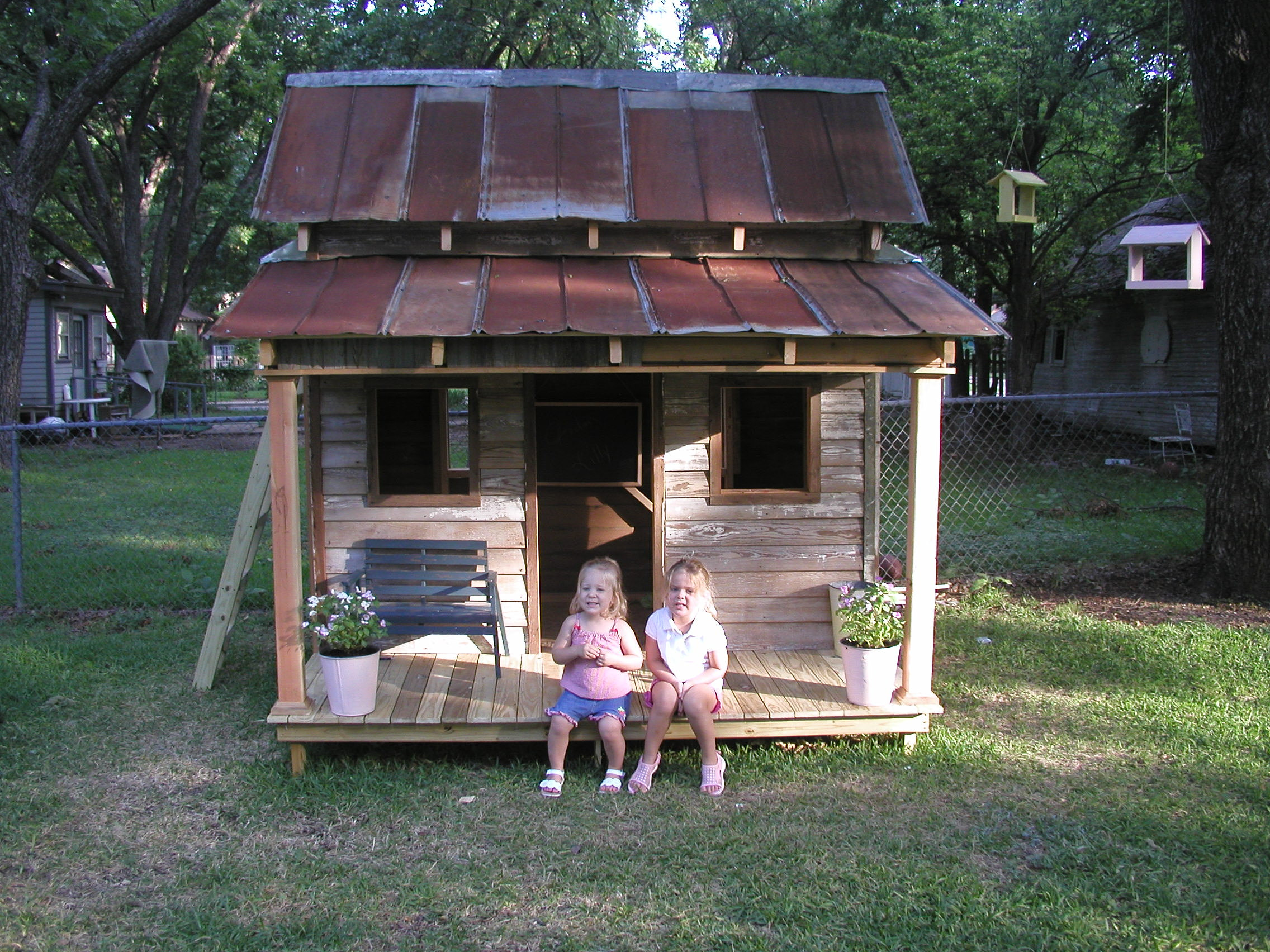 Restoring texas reclaimed repurposed resources two story for How to build a 2 story playhouse