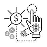 Icône paiement à l'utilisation