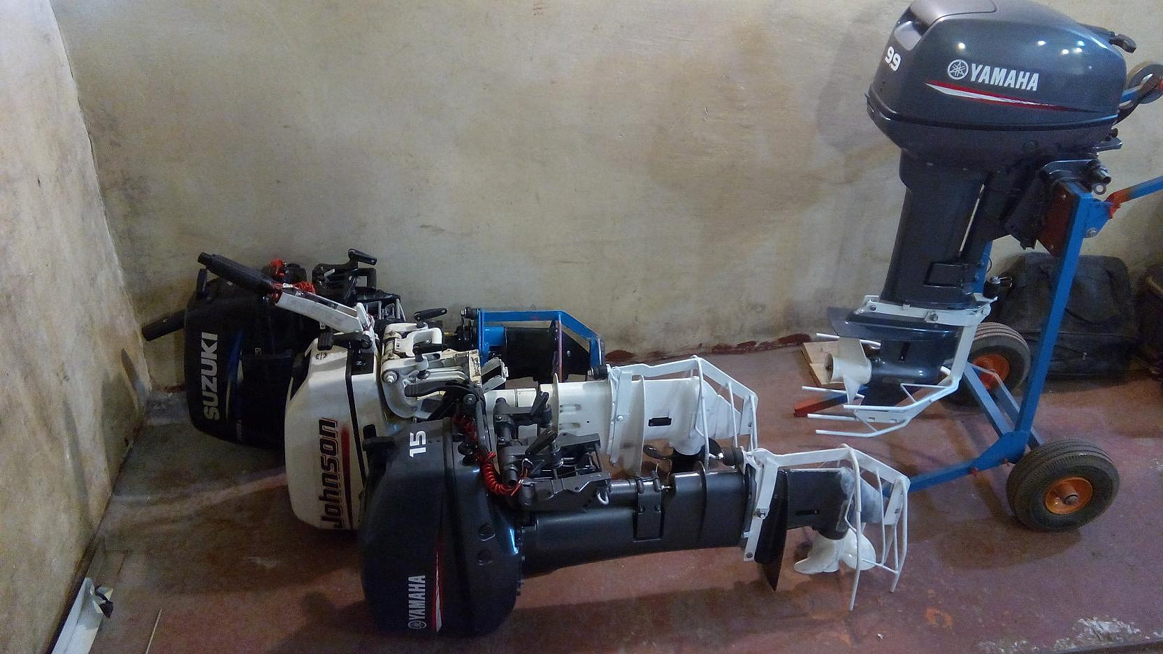 лодочный мотор ямаха снять редуктор