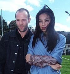 Jason Statham and Shu ...