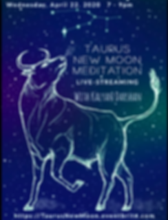 Taurus New Moon Poster.png