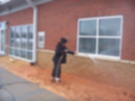 brooks pressure washing Brick cleaning Lexington NC