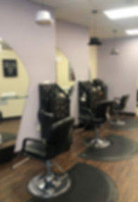 image of salon chairs