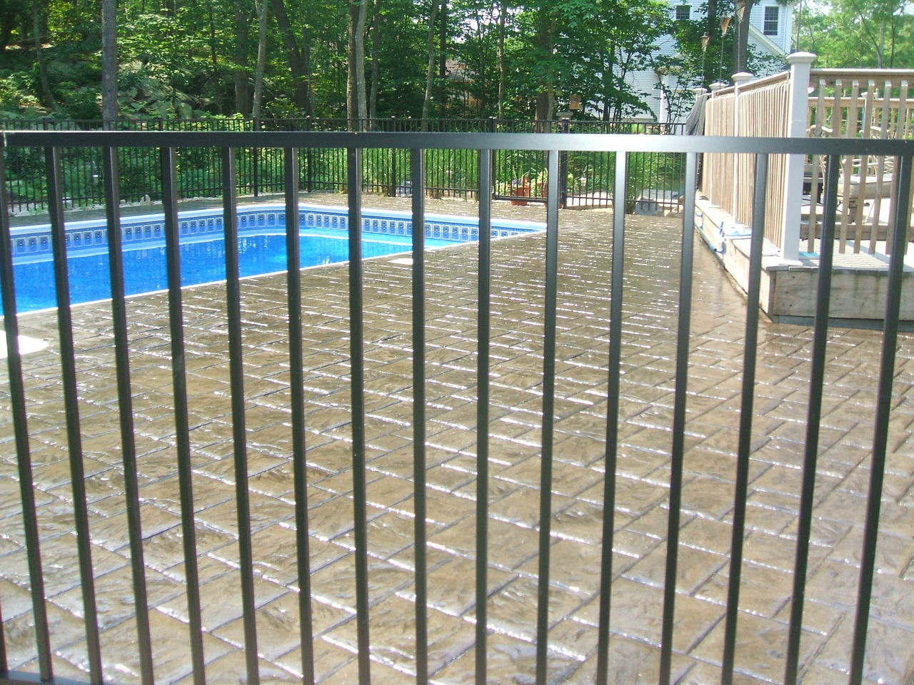 Sealing exposed aggregate pool deck - Pool Deck Cleaning And Sealing