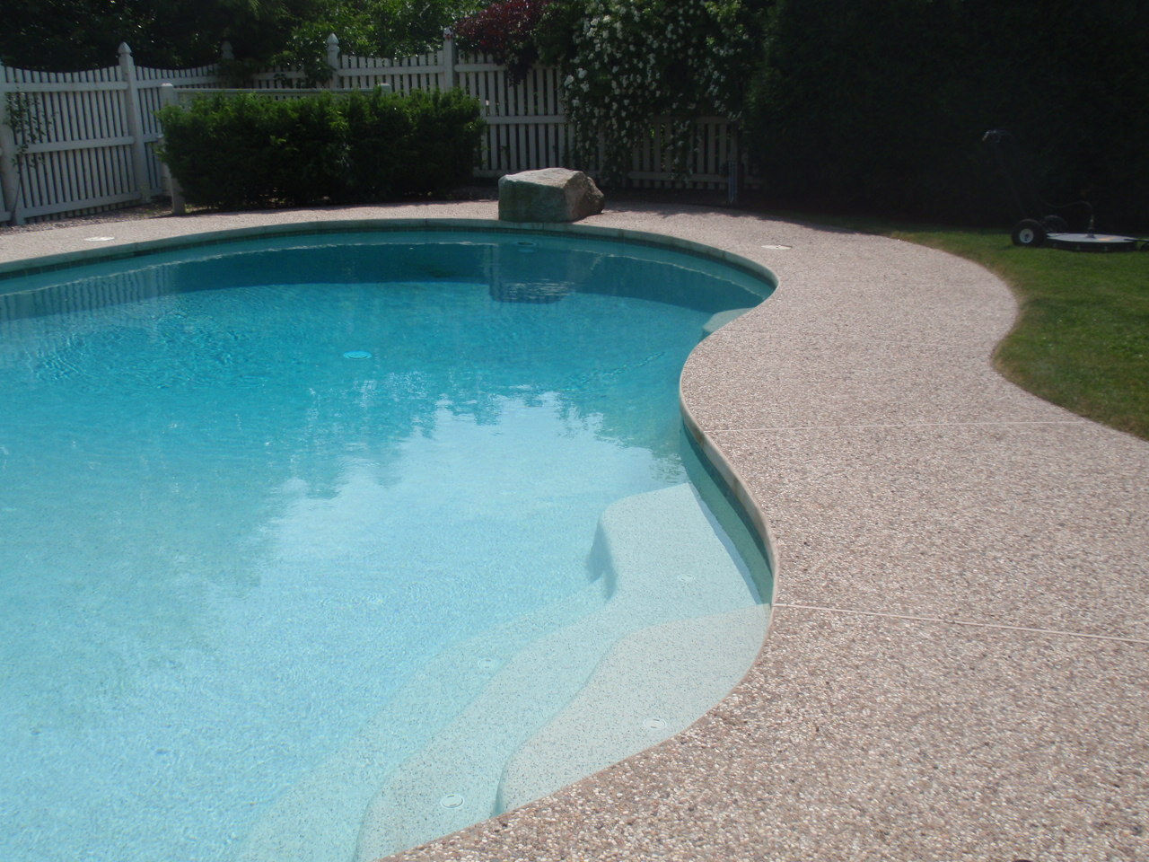 Sealing exposed aggregate pool deck - Sealing An Exposed Aggregate