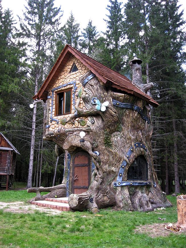 Фото сказочные дома