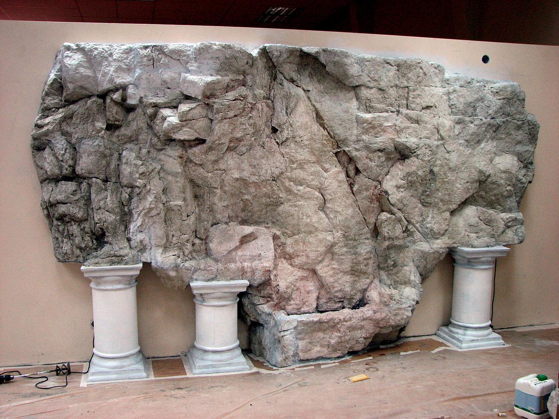 Камни и скалы своими руками