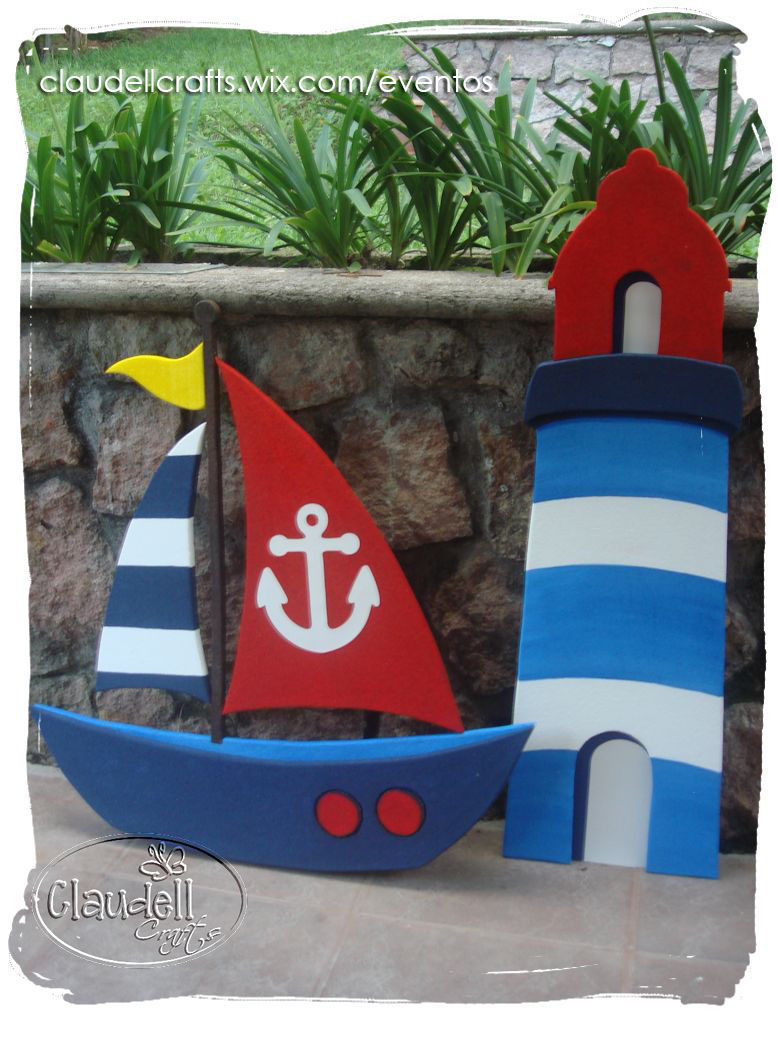 Decoraci n personalizada para fiestas honduras for Decoracion nautica infantil