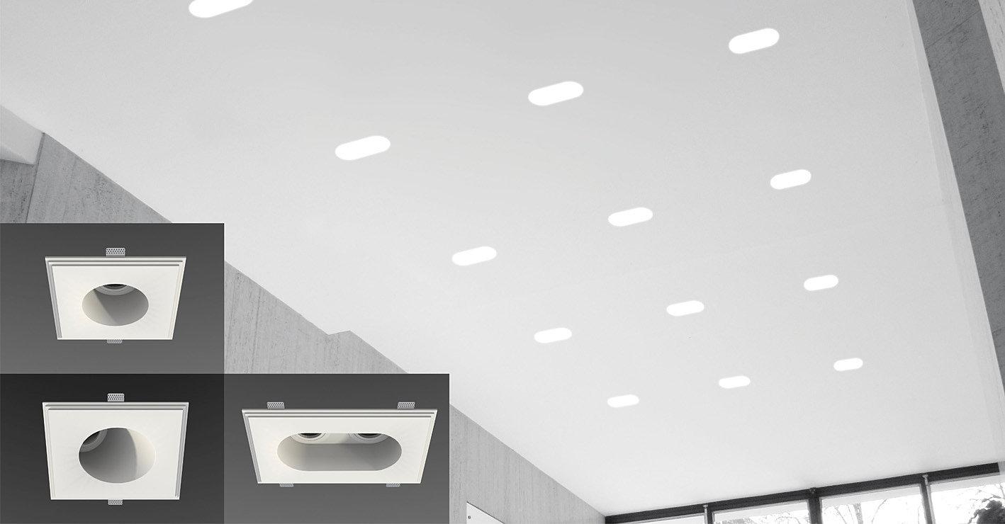 luminaire encastr plafond. Black Bedroom Furniture Sets. Home Design Ideas