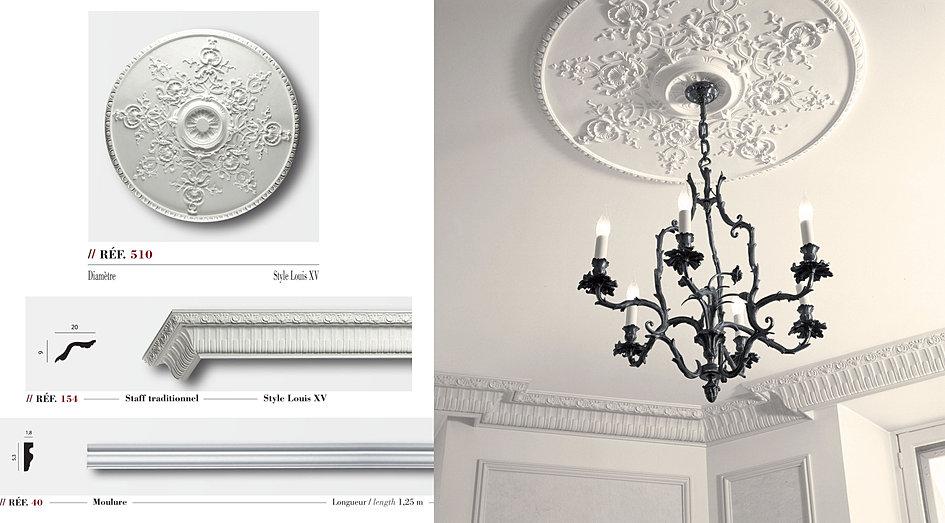 tse corniches rosaces moulures luminaires staff et pl tre. Black Bedroom Furniture Sets. Home Design Ideas