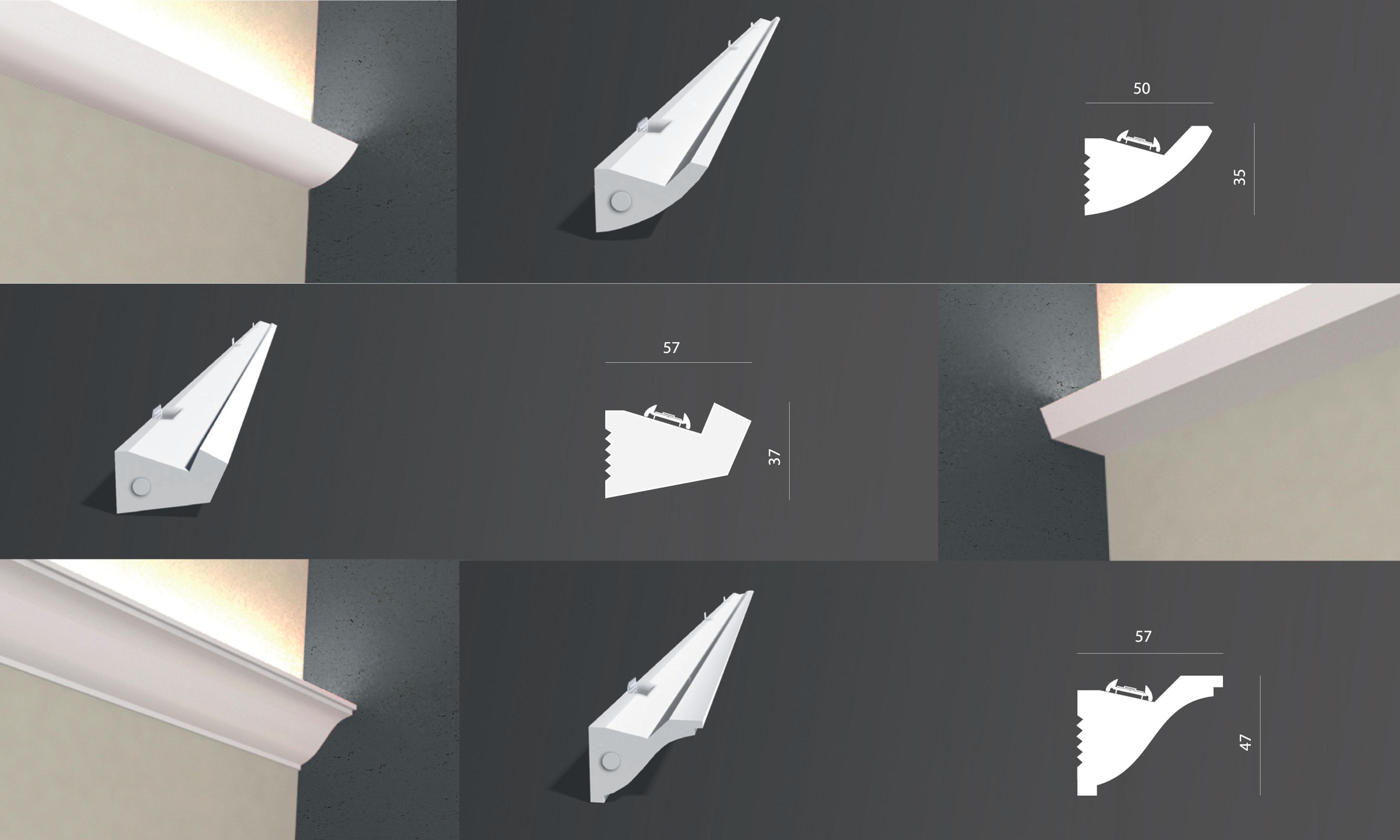 technique staff eclairage paris micros corniches eclairantes staff. Black Bedroom Furniture Sets. Home Design Ideas