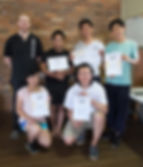 Power Within Wing Chun Awards for some exceptional students