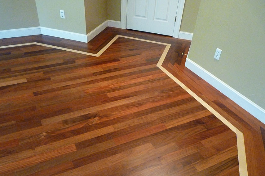 Borders feature strips fine cut wood flooring Hardwood floor designs borders