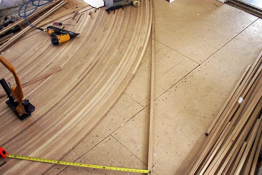 Bent Wood Floors Fine Cut Wood Flooring