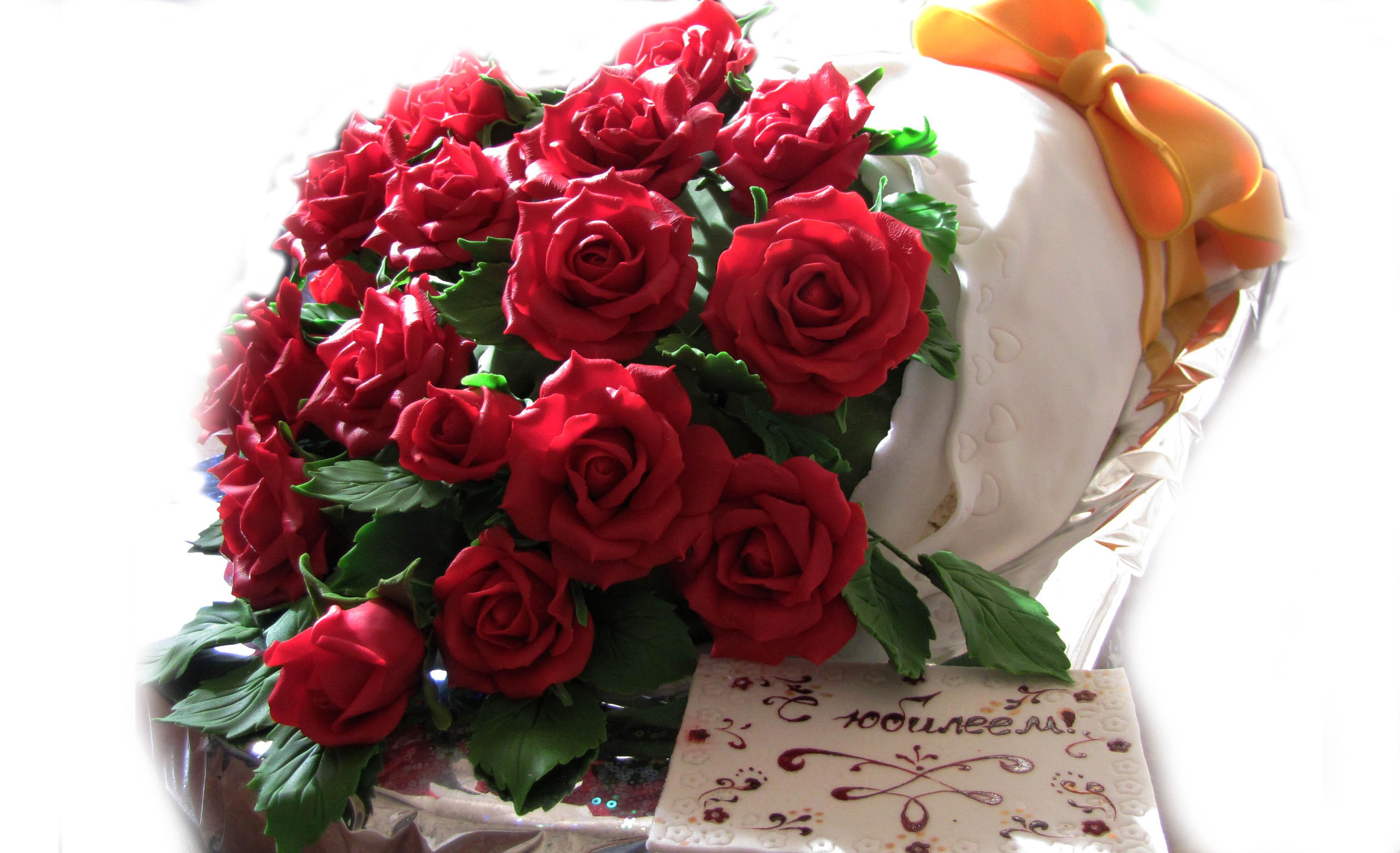 Красивые торты с цветами к дню рождения фото