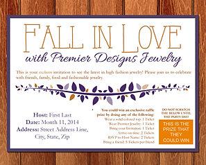 Beka wilson design premier jewelry for Premier designs invitations